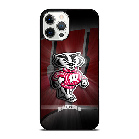 WISCONSIN BADGER 1 iPhone 12 Pro Max Case