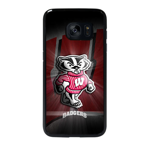 WISCONSIN BADGER 1 Samsung galaxy S7 edge Case