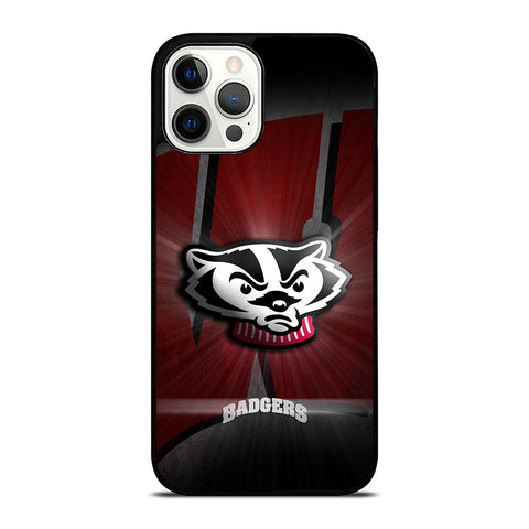WISCONSIN BADGER iPhone 12 Pro Max Case