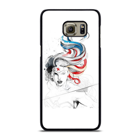 WONDER WOMAN SKETCH Samsung Galaxy S6 Edge Plus Case