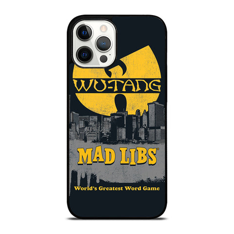 WUTANG CLAN MAD LIBS iPhone 12 Pro Max Case