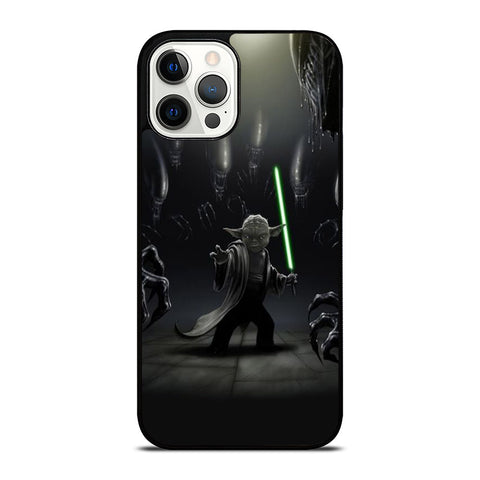 YODA VS ALIENS iPhone 12 Pro Max Case