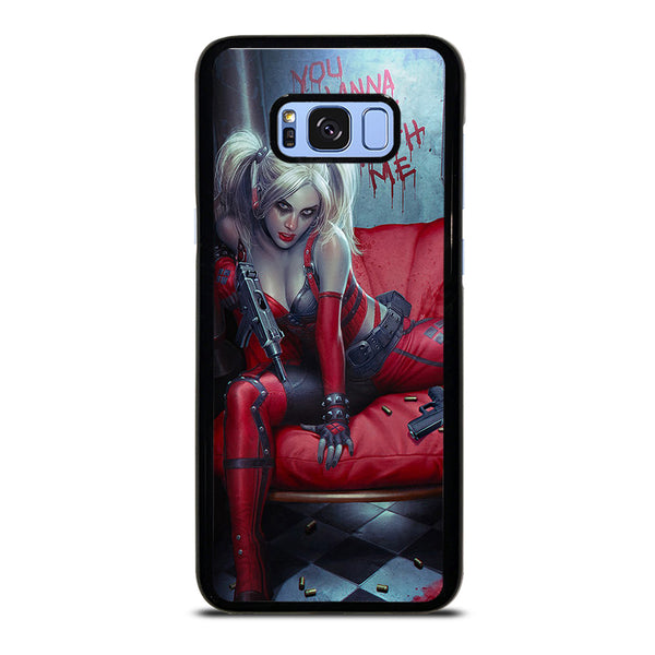 YOU WANNA PLAY WITH HARLEY QUINN Samsung Galaxy S8 Plus Case