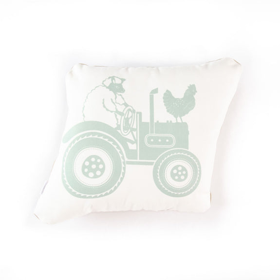 Tractor cushion - green