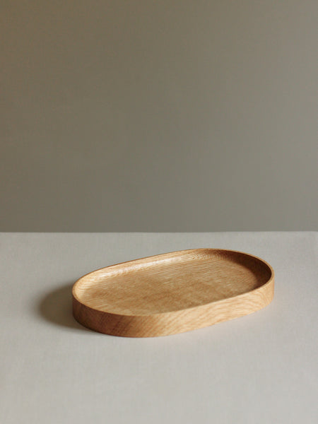 Oak Oval Tray