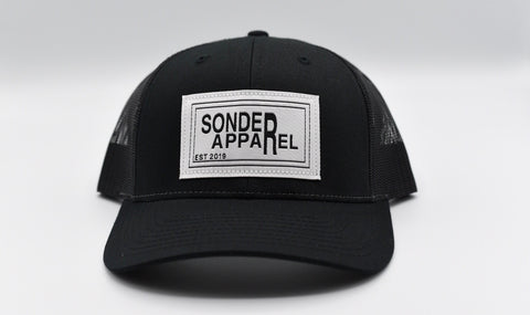 Sonder Apparel Trucker Hat - Black