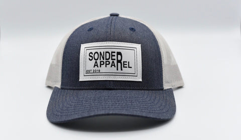 Sonder Apparel Trucker Hat - Heather Navy