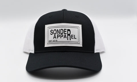 Sonder Apparel Trucker Hat - Black/White