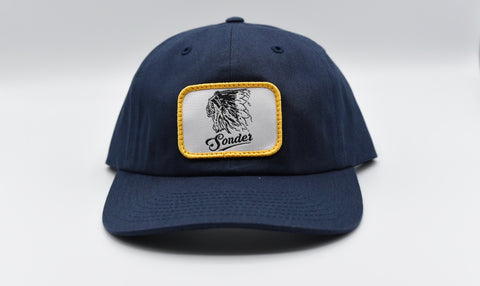 Vintage Indian Patch Hat - Navy