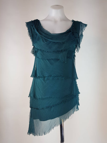 Tallulah Tiered Silk Top