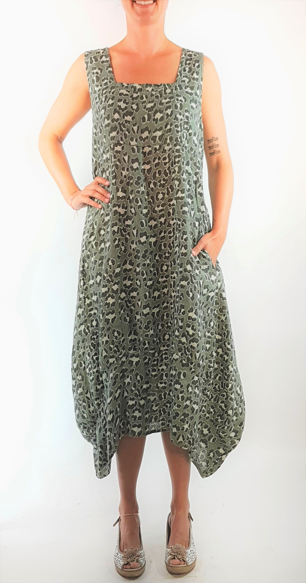 Winslet Animal Print Dress