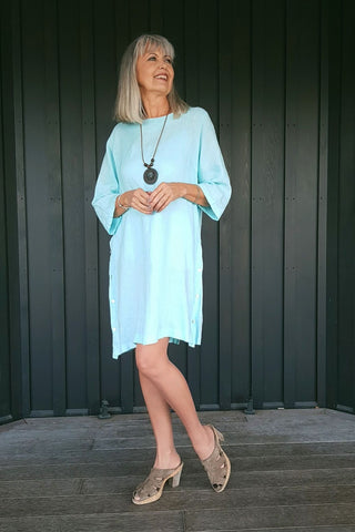 Slim Look Linen Dress