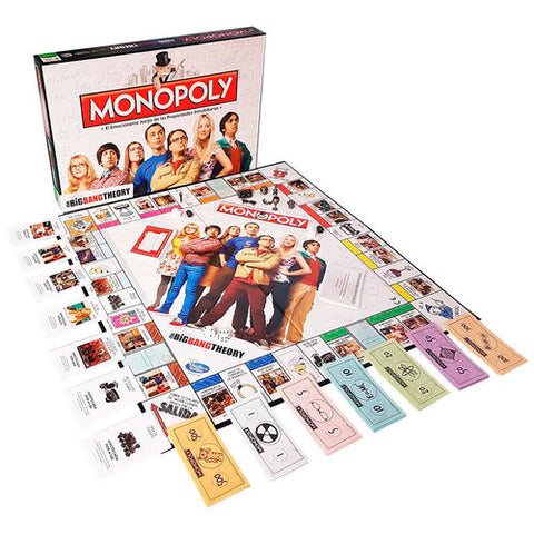 joc de taula Monopoly The Big Bang Theory