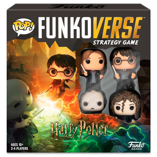 Joc taula POP Funkoverse Harry Potter 4 figures