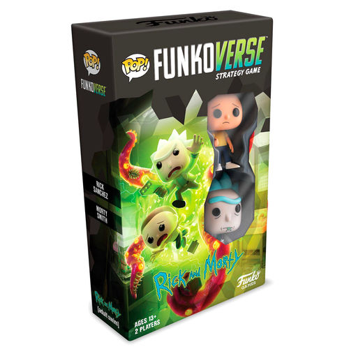 Joc taula POP Funkoverse Rick and Morty 2 figures