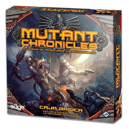 Mutant Chronicles miniatures board game
