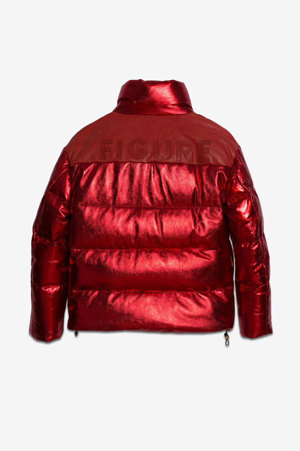 Leather Puffer Red Man