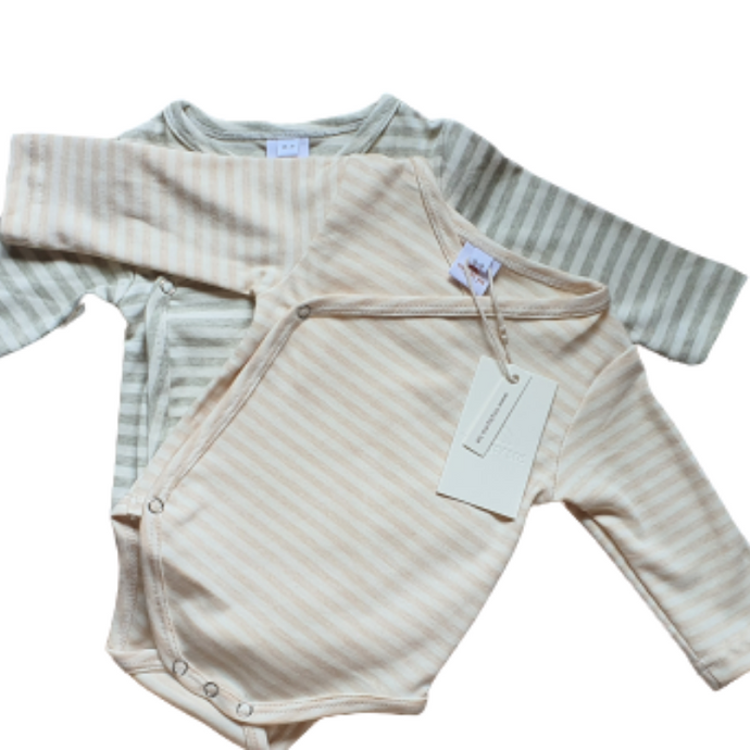 Lucia romper package - beige & grey