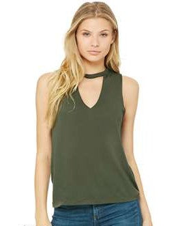 Cut Neck Tank (Military Green)