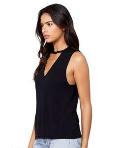 Cut Neck Tank (Black)