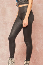 Load image into Gallery viewer, Faux Leather High Waisted Leggings