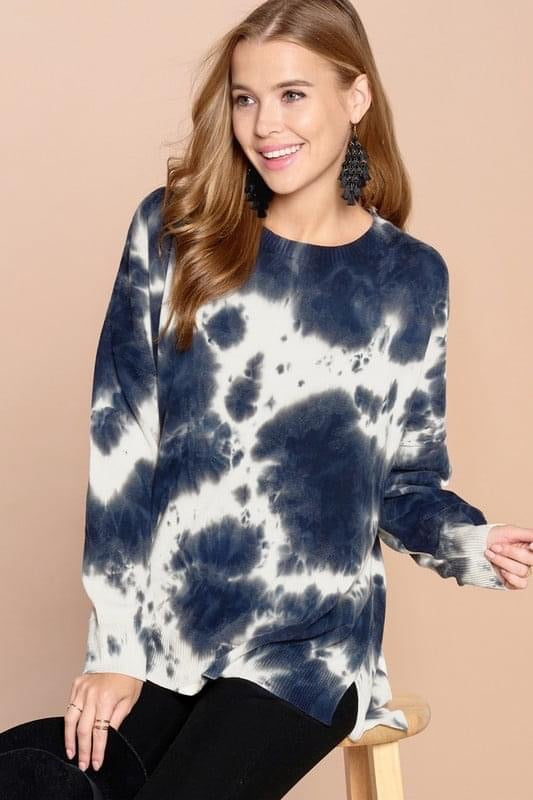 Tie-Dye Oversized Sweater