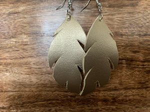 Feather Earring (Gold)