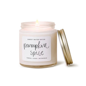 Pumpkin Spice Mini Soy Candle