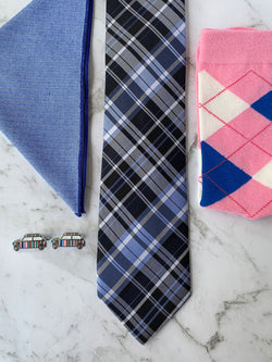 Life Is a Highway Silk Tie Set