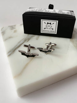 Black Batman Mens Superhero Cufflinks | Bowtie & Arrow Australia