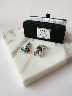 Black Fly Insect Cufflinks