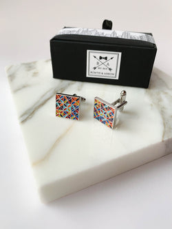 Kaleidoscope Cufflinks