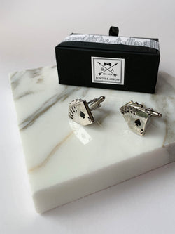 Casino Cards Cufflinks
