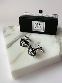 Viking Shield Cufflinks