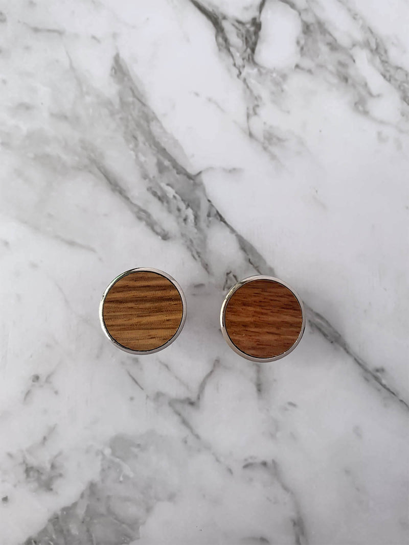 Mens Wooden Cufflinks | Bowtie & Arrow Australia