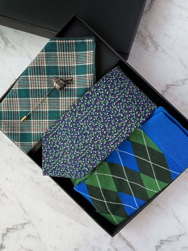 Haring To Go Cotton Tie Set