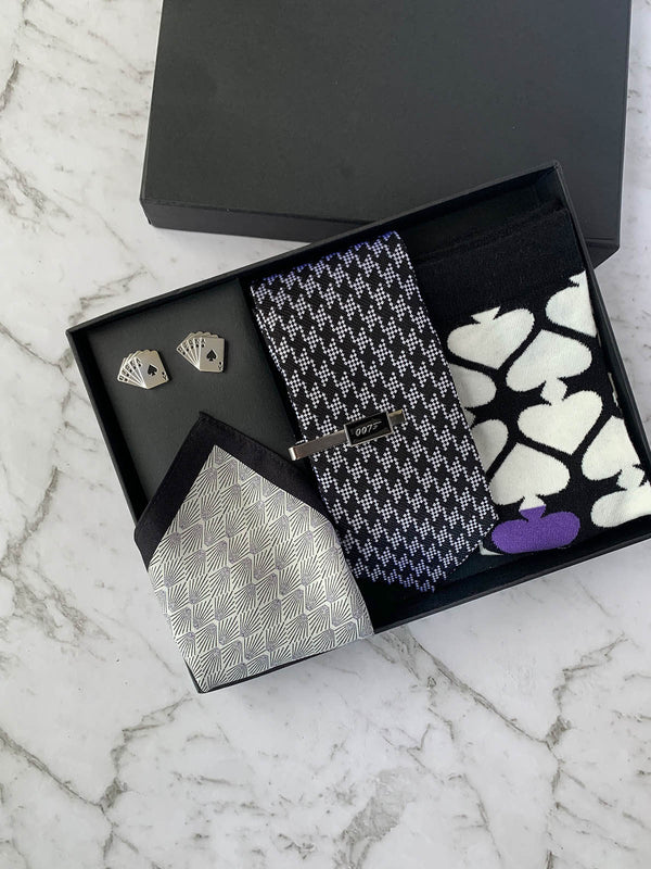 Shaken Not Stirred Silk Tie Set