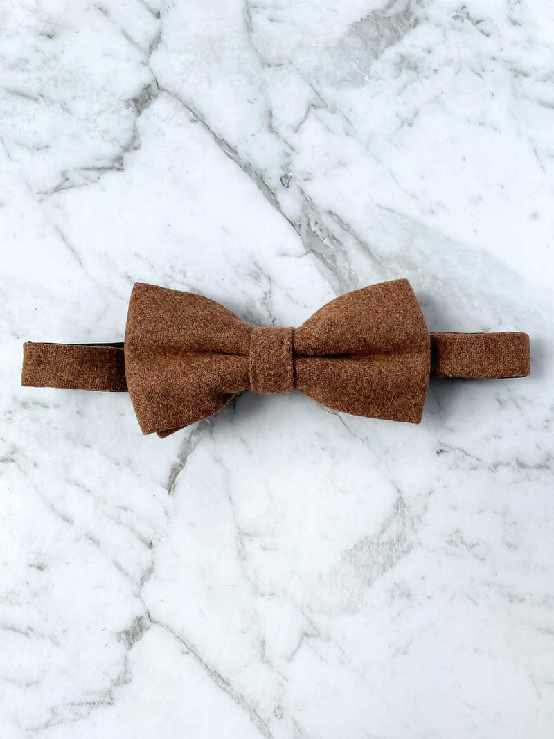 Sunburnt Country Wool Bow Tie Set