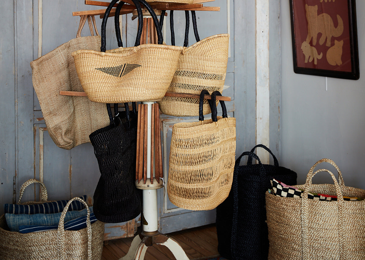 Baskets, Totes, & Pouches