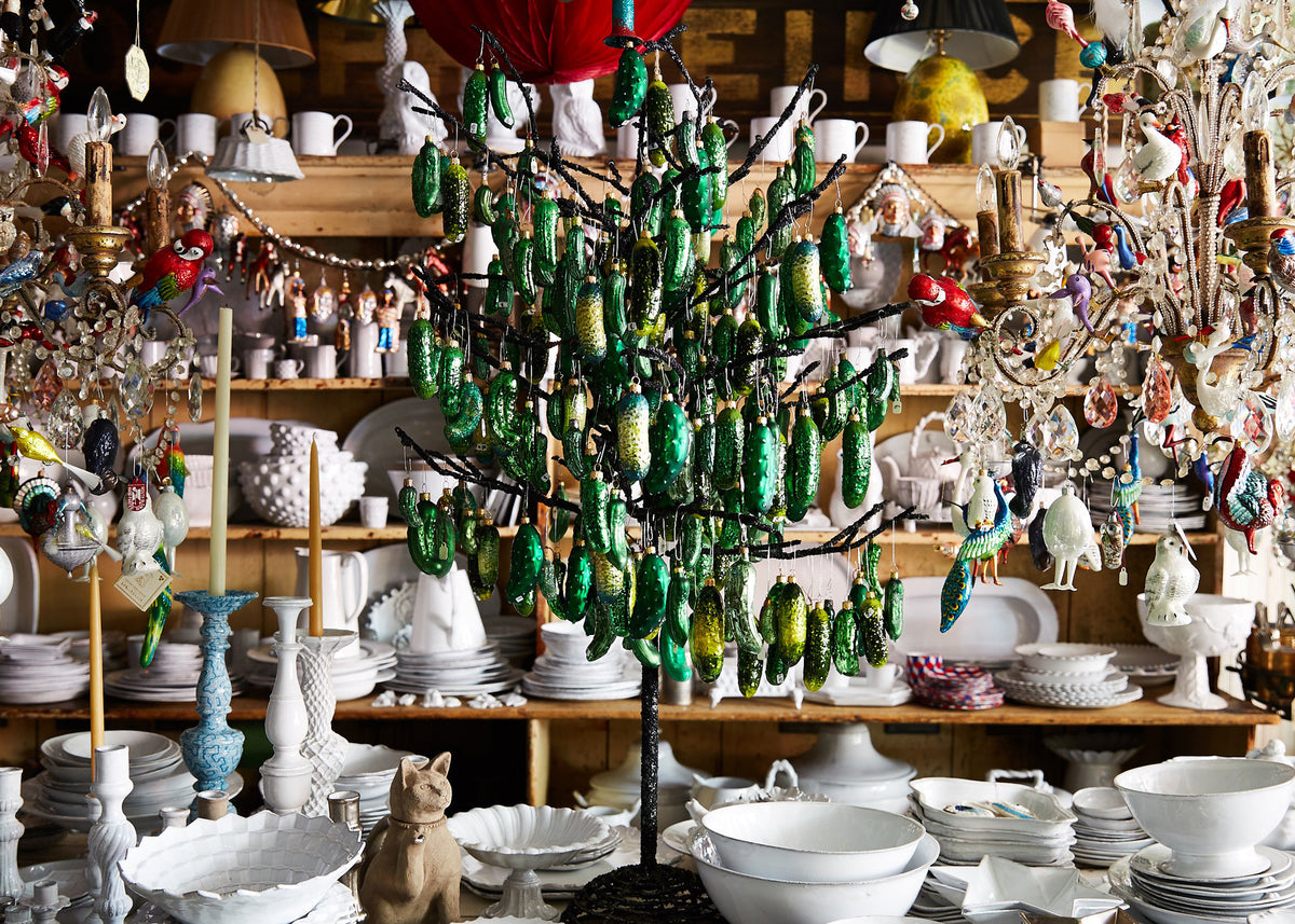 Blown Glass Ornaments and Tree Toppers