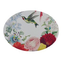 Flora's Dictionary Oval Placemat