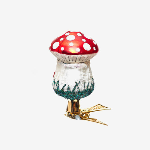Toadstool Clip-On Ornament