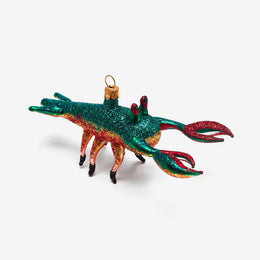 Multicolor Lobster Ornament