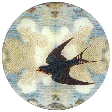 Swallow in Flight (Flying Left)