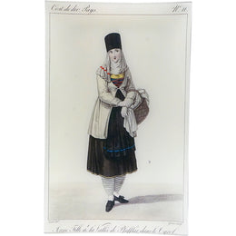 Costume: Jeune Fille de la Vallee - FINAL SALE