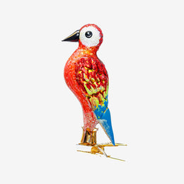 Multicolor Bird Clip-On Ornament