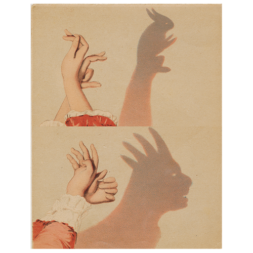 Bunny Shadow Puppet (p 111)