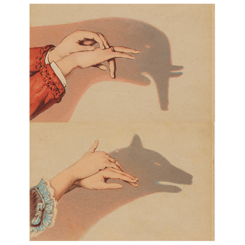 Wolf Shadow Puppet (p 112)
