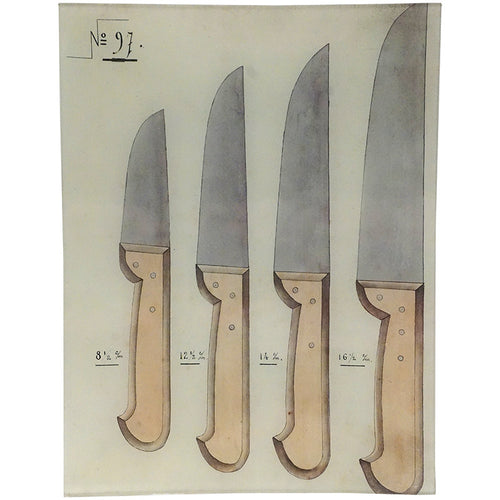 Brown Handled Knives