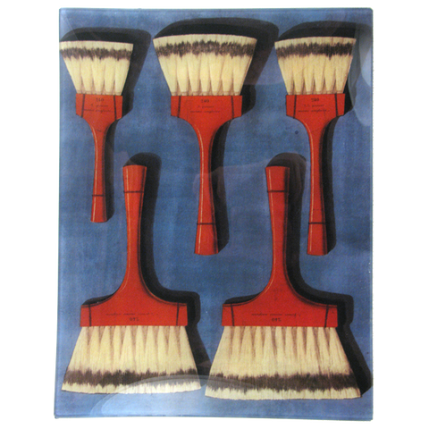 Balais en Blaireau 240 (Striped Brushes)
